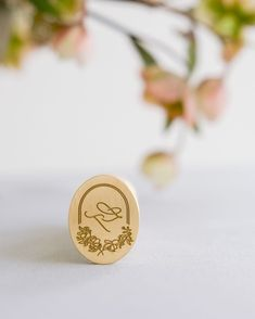 I present to you my first oval wax seal stamp from @artisaire⠀⠀⠀⠀⠀⠀⠀⠀⠀ It was my first creating with that shape and I can't wait to create… Wax Seal Stamp, Wax Seals, Presents, Place Card Holders, Calligraphy, Child, Shapes, Create, Design