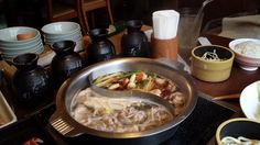 Shabu shabu and sukiyaki. Cook meat and veg yourself in a bowl at the table. All-you-can-eat is never a bad idea here