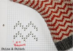 Stine & Stitch: Time for warm and soft or . Stine & Stitch: Time for warm and soft or . Patterned Socks, Textiles, Knitting Socks, Knitting Machine, Hand Warmers, Knitting Projects, Mittens, Knit Crochet, Free Pattern