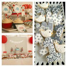 décoration table pour anniversaire bebe