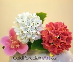 Image result for how to colour cold porcelain flowers