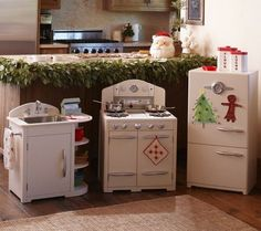 Red Retro Kitchen Collection | Pottery Barn Kids (no Longer Available Of  Course, But Shouldnu0027t Be Too Hard To DIY) | For The Home ~ Kids Room Ideas  ...