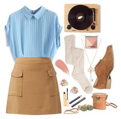 """✖wes anderson✖"" by misandryandme ❤ liked on Polyvore featuring Aéropostale, Chicwish, ALDO, Dorothy Perkins, Clinique, Burberry, Dot & Bo, Stila and Ion"