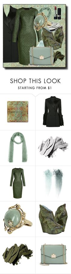 """""""snake"""" by elza-smith ❤ liked on Polyvore featuring Y/Project, Mattabisch, Bobbi Brown Cosmetics, Dolce&Gabbana, Vintage, Jennifer Lopez and Christian Dior"""