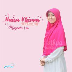 Naira Khimar Size M  Material : PE Premium, INGIN ORDER? Kunjungi instagram kami  #jilbab #hijab #pashmina #muslimah #hijabtrend #alfiya #alfiyahijab #indonesia #khimar