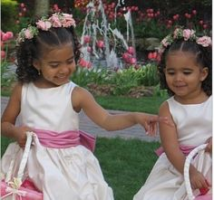 african american flower girl hairstyles - Google Search