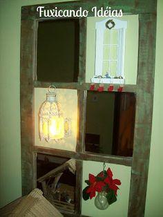 Fuxicando Idéias: Decoração Natal - Meu Presépio
