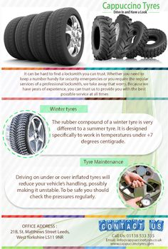 If you looking for a best Mobile Tyres Leeds,make sure you come to Cappuccino Tyres.We provide you best tyres in the region.