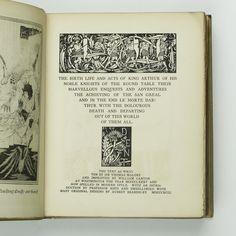 Le Morte D'Arthur, Illustrated by Aubrey Beardsley, First Edition