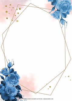 Pink And Gold Wallpaper, Gold Wallpaper Background, Flower Phone Wallpaper, Wallpaper Iphone Cute, Wallpaper Backgrounds, Certificate Background, Flower Graphic Design, Baby Blue Weddings, Wedding Invitation Background