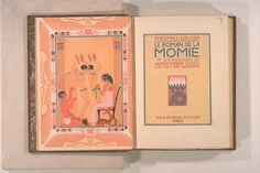 BB00110796 BibliographyLe roman de la momie / compositions de George Barbier ; gravées sur bois par Gasperini ; [texte par] Théophile Gautier Paris : A. & G. Mornay , [1929?]