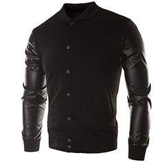 Herren Fashion PU Jacke Reiter Biker Slim Fit Sweatjacke Zipper Pulli Trenchcoat(48,black) Fashion Season http://www.amazon.de/dp/B00O0N9UUE/ref=cm_sw_r_pi_dp_pYJpub06EG899