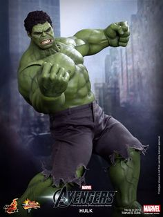 The Hot Toys 1/6 Scale 'The Avengers' Hulk Smashes In New Images