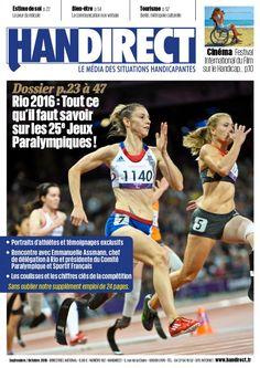 Handirect 162 - Jeux paralympiques Rio 2016 © Didier Echelard FFH