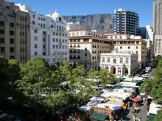 The view from a great little apartment in the City Bowl Art Deco Buildings, 1 Bedroom Apartment, Cape Town, Street View, Real Estate, Mansions, Architecture, House Styles, City