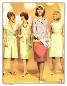 pingl par blanca ines bejarano garzon sur vestidos pinterest mode ann e 60 ann es 60 et annee. Black Bedroom Furniture Sets. Home Design Ideas
