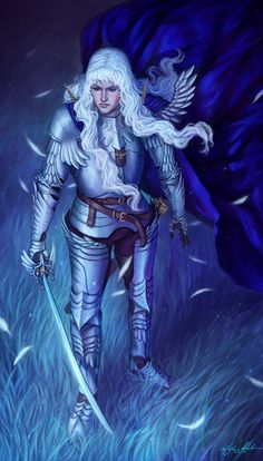 The Dreaming Hawk: Griffith by NickRoblesArt.deviantart.com on @deviantART