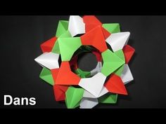 How to make an Origami Spiky Icosidodecahedron (Complete Folding Instructions) - YouTube