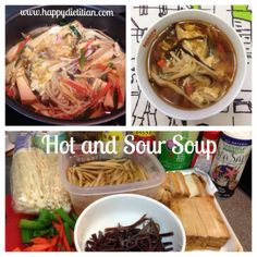 Vegetarian Hot and Sour Soup #recipe #vegetarian #vegan #soup #health #nutrition #healthyfood
