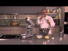 Recette de pâte à brioche au Cooking Chef Premium par l'Académie du Goût - YouTube