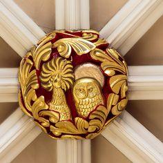 York Minster South Transept bosses -18 York Minster, Religious Architecture, Green Man, Tudor, Wood Carving, Artworks, Boss, Stone, Wood Sculpture