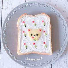 Korilakkumar toast art by kaori.kubotaHokkaido (@kaopan27)