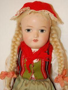 Martha Bebe, E-bay Finland Dollhouse Dolls, Dollhouses, Puppets, Finland, Ethnic, Vintage, Collection, Women, Bebe