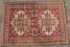Alter Teppich Kaukasus Rußland
