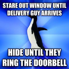 livememe.com - Socially Awkward Penguin