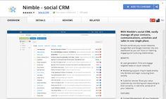 Nimble Social CRM Google Chrome Extension
