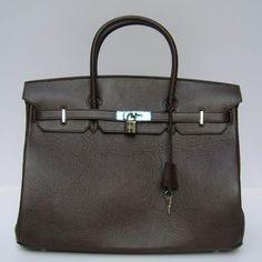 Luxury Replica Hot Hermes Birkin 62641 Handbag Brown Handbag For Sale H01204 - luxuryhandbagsoutlet.com
