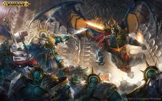 ArtStation - Realmgate Wars, Billy Christian