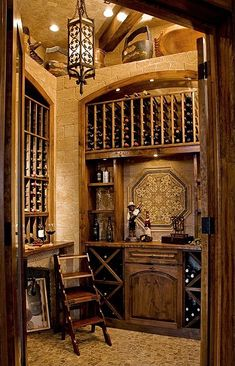 Mediterranean Wine Cellar - Found on Zillow Digs. What do you think?