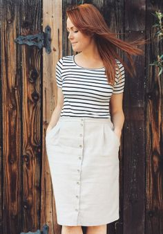 April's Agnes top - sewing pattern by Tilly and the Buttons