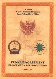 Yunnan Agreement, Dokumen Tua Indonesia - China | Thriller Author Indonesia
