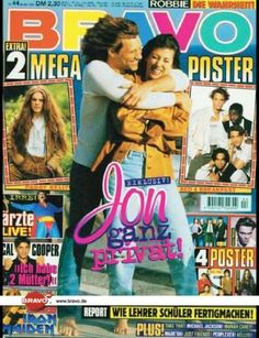 Dorothea Hurley and Jon Bon Jovi, Bravo Magazine [Germany] (26 October 1995)