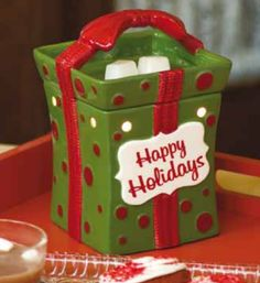 All Wrapped Up  #Scentsy Holiday Warmer