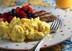 This delicious and easy recipe for Make Ahead Scrambled Eggs is the perfect way to save time in the morning.