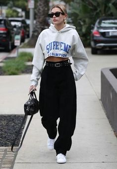 Hailey Baldwin Spotted Wearing Three Of Spring's Biggest Trends In One Look