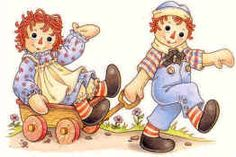 Raggedy Ann & Andy  I had all the books!
