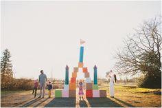 The Keaton Family & their Narnia Castle!