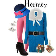 """""""Hermey - Rudolph the Red Nosed Reindeer"""" by marybethschultz on Polyvore"""