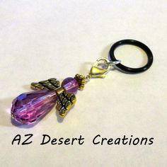 Purple Vaping Angel PV MOD Charm Personal Vaporizer Charm | DesertCreations - Accessories on ArtFire