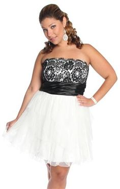 plus size multi layer tiered lace homecoming dress