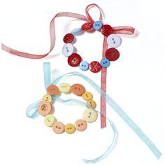 Bright Button Wreaths | Craft Ideas & Inspirational Projects | Hobbycraft