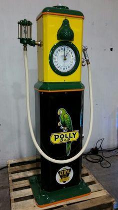 Polly clockface pump.