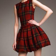 Alexander McQueen Tartan Dress @eva eva N. Kann ich das bekommen? :)