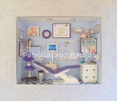 Consulta Dental con miniaturas para mujer. Patricia Cruzat Rojas