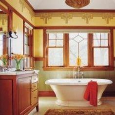 Craftsman and Mission Style Bathroom Vanities