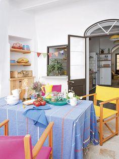 Casa rústica com sabor mediterrânico ~ Decoração e Ideias - casa e jardim